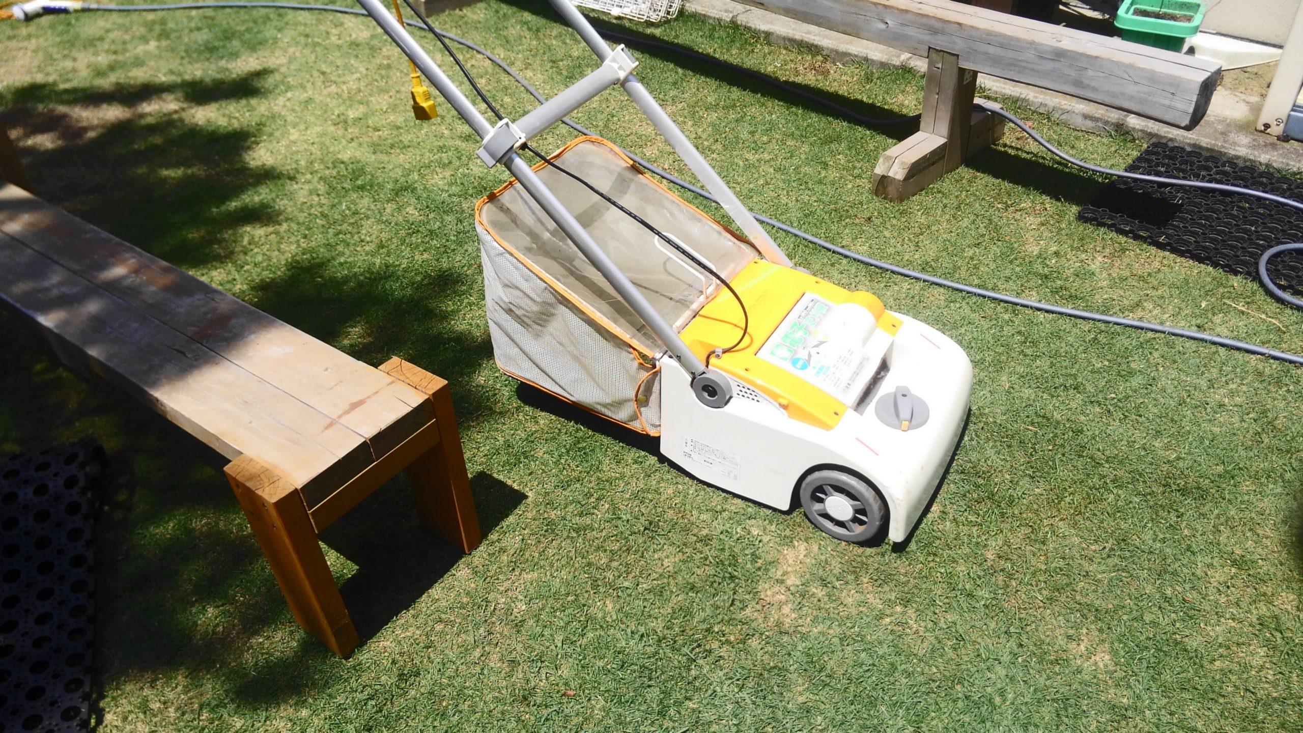 RYOBI LM-2810 リール式芝刈り機