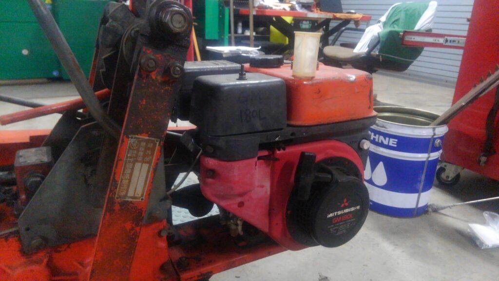 三菱メイキGM180Lの燃料フィルター
